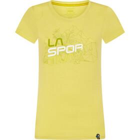 La Sportiva Cubic Camiseta Mujer, celery